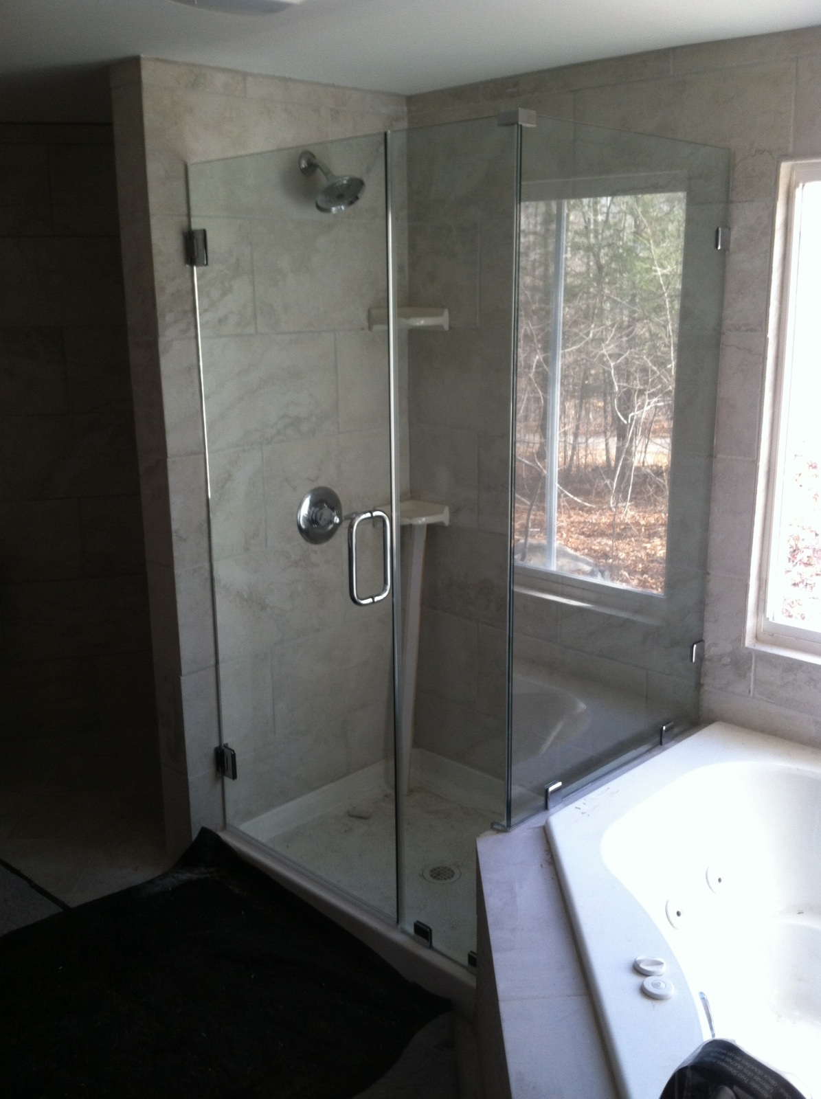 Shower Tub Enclosures Ne Glass And Mirrorne Glass And Mirror