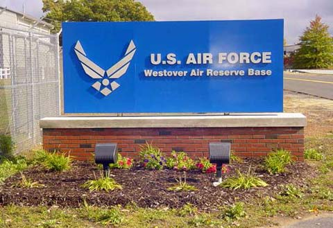 Sign-Westover-Air-Reserve-Base